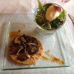 Croustillant d'andouille au camembert