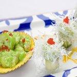 Chinese shrimp with wasabi