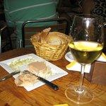 Foie gras e Vouvray Loira del 96
