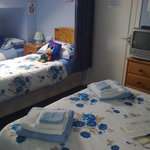 Family room sleeps 4