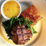 Fillet Steak, Potato Gratin, spinach and béarnaise