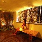 Sauna-Frischluftraum