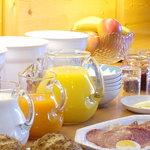 Frühstücksbuffett