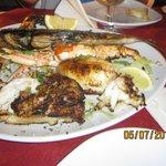 grigliata di pesce imperiale (x2) alla brace