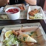 involtini salmone e calamaro ripieno
