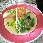 Chilean salmon plate