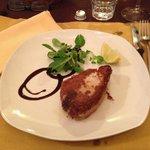 trancio di tonno in crosta di pistacchio