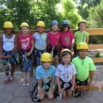 Getting ready to zip Line!!