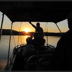Boat cruise at sunset - Lake Jozini