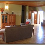 Self-catering house - lounge area