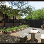 Courtyard - Smaller self-catering unit