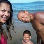 Minha Familia na Praia de Geriba