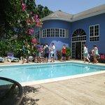 Blue House pool