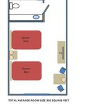 Standard Room-Maximum occupancy 5