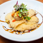 Cornmeal Encrusted Yellowtail
