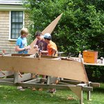 Building a Skiff at the Atwood House