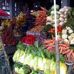 Fruits and Vegetable market in Candi Kuning,Bedugul