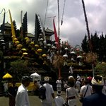 A Temple Festival at Besakih Temple