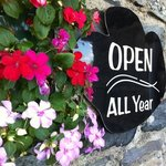 open all year....