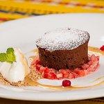 Estonian Cuisine Chocolate Fondant