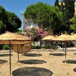 Bisera Hotel private beach