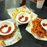 Happy fries