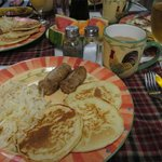 One of the tasty breakfasts we had in June!