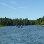 Floating down the DesChutes River
