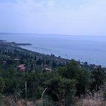 Blick auf den Lago , oberhalb vom Arca