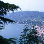 Blick vom Rocca auf Garda