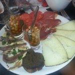 excellent restaurant le plateau méditerranéen est une vraie réussite de saveurs et de couleurs m