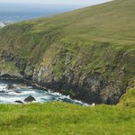 Views over the cliff tops
