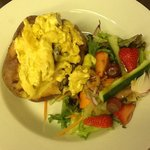 Coronation chicken jacket potato