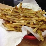 j&w French fries!! hot and delicious!! YUM!!!