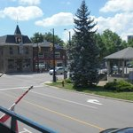 View of the Chippawa Village square