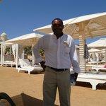 Ibrihim - the best beach bar man in the world