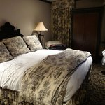 Espaço suficiente no quarto e confortável