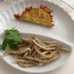 antipasto gianchetti e pesciolini fritti