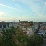 vista da janela do Mercure Center Bordeaux