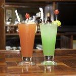 colorful rhumpunch great taste