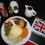 My Sunday roast complete with Bisto!
