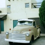 A vintage Chevy Truck, the motel mascot