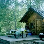 We loved staying here. River Cabin #4.