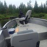 upgraded boat