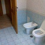 I loved the bathroom decor