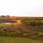 Swimmingpool with braai area