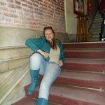 Escadas da entrada.