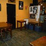 Bar e local do café da manhã.