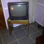 El televisor de la habitación