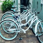 Bikes provided for guests